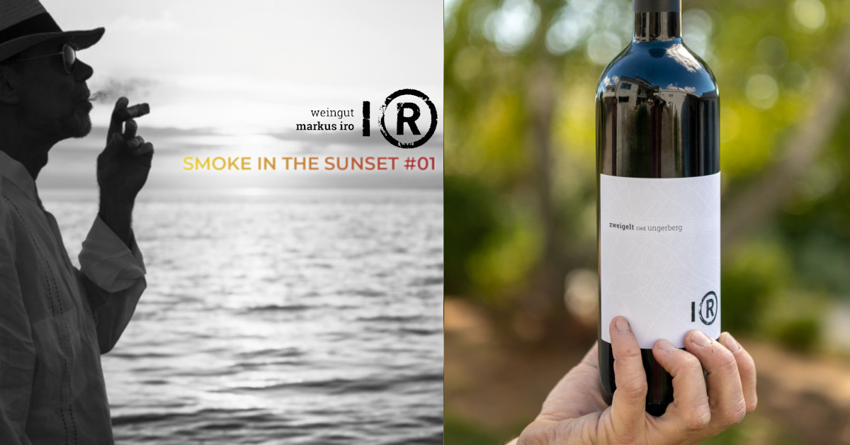 smoke in the sunset #1