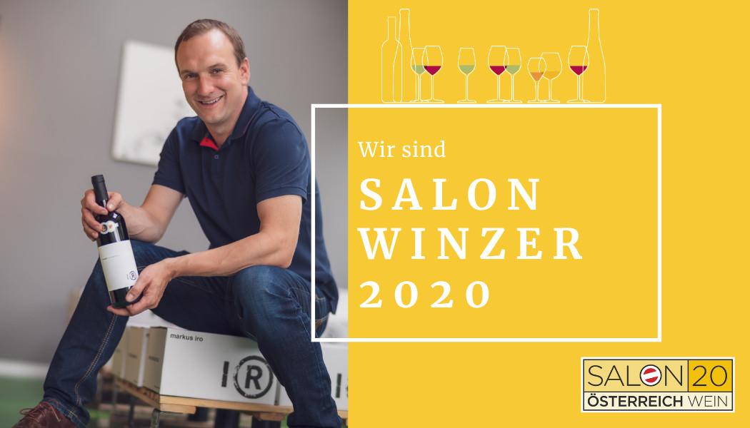 """weingut markus iro aus gols ist """"salon-winzer"""" 2020 - österreich wein marketing"""